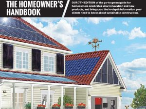Green Builder Magazine's 2016 Homeowner Handbook feature SIPs